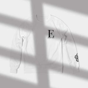 East Ave Crewneck - Rochester NY Gifts - Gray Gloria