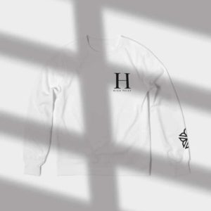 High Falls Crewneck - Rochester NY Gifts - Gray Gloria
