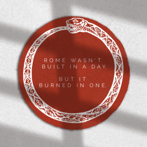 Rome Wasn't Built in a Day Sticker - Rochester NY Gifts - Gray Gloria