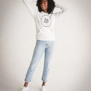 The Flower City Women's Hoodie - Rochester NY Gifts - Gray Gloria